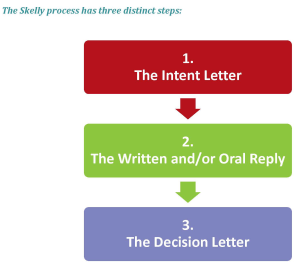 Three phases of the Skelly Process